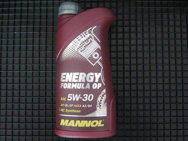 Моторная жидкость Mannol в литровой упаковке