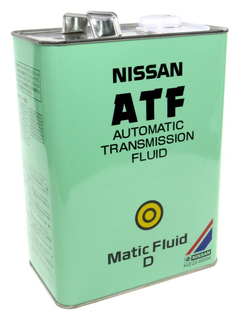 Трансмиссионная жидкость Nissan ATF Matic Fluid D
