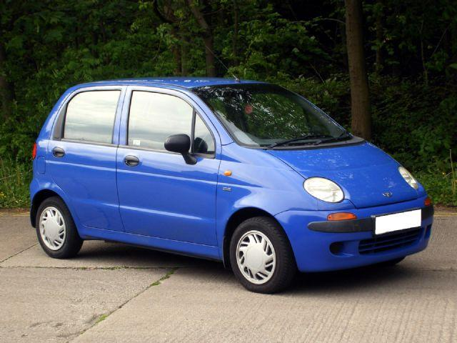 Синяя Daewoo Matiz