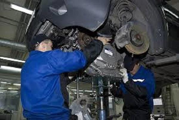 Демонтаж автоматической коробки передач