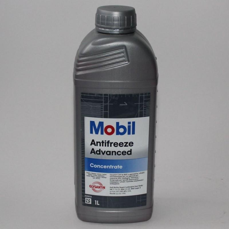 Охлаждающее вещество Мобил Адвансед в литровой упаковке