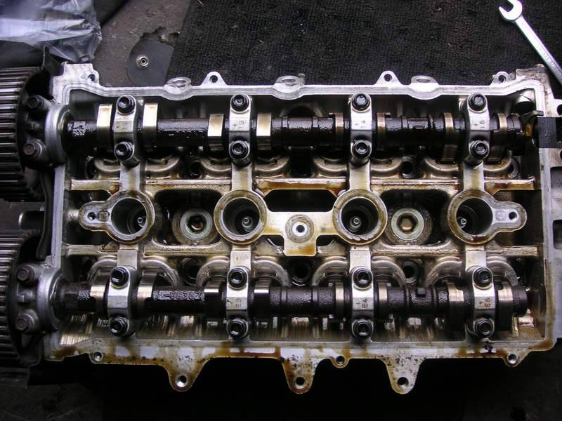 Двигатель после использования Shell Helix Ultra