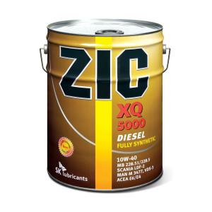 Масло ZIC 10w-40 XQ 5000