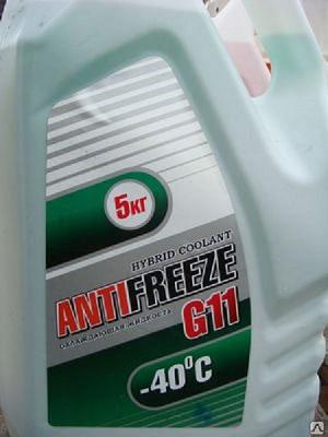 Антифриз G11 зеленый