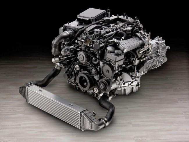 Четырёхцилиндровый турбодвигатель