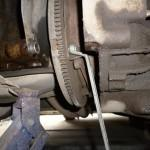 5. Демонтаж механизма через образовавшуюся в результате сдвига КПП щель