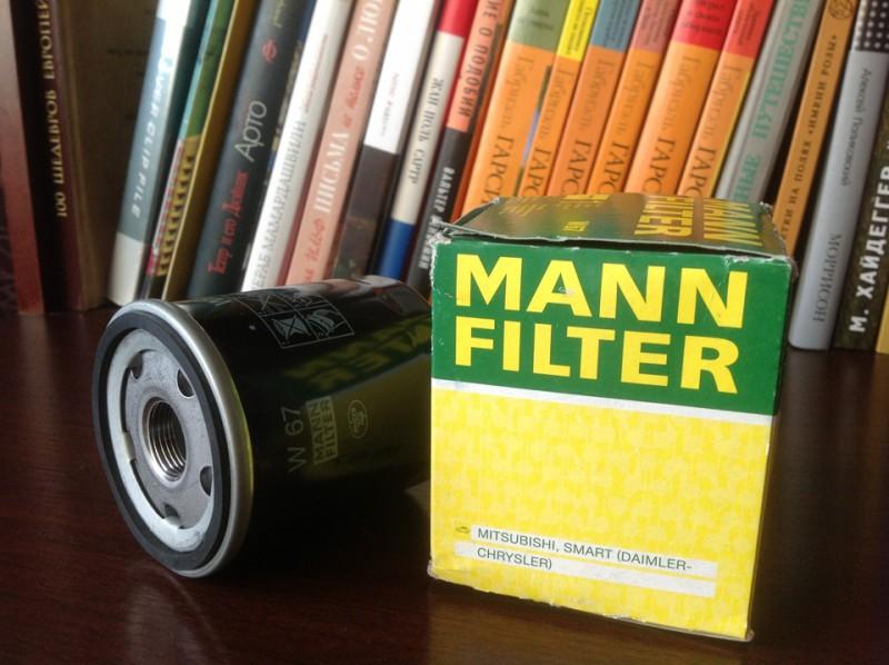 Новый маслофильтр фирмы MANN