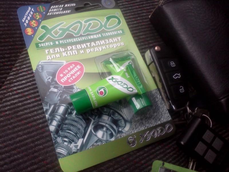 Присадка Revitalizant от Xado для снижения звуков в коробке передач