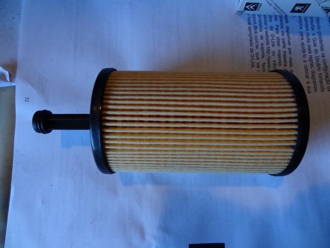 Так выглядит фильтрующий элемент очистки ММ в автомобилях Пежо 308 и 307