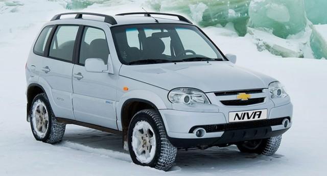 Автомобиль Нива Шевроле - модель 2013 года