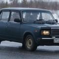 Синий ВАЗ 2107