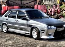 Автомобиль ВАЗ 2115 тюнинг