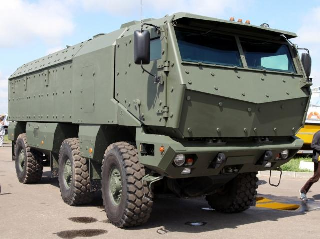 Военный бронеавтомобиль КАМАЗ «Тайфун»