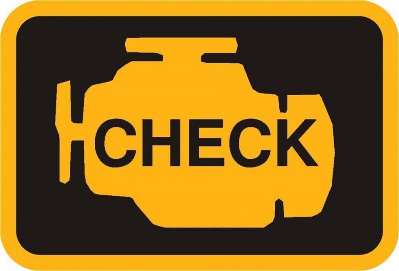 Лампа Check Engine - загорается в случае возникновения неисправности Тойоты