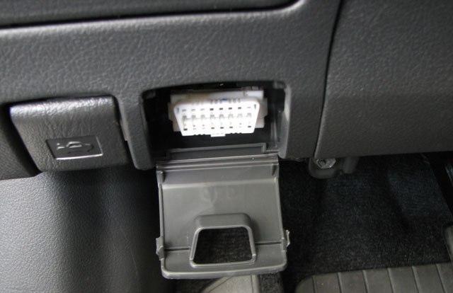 Диагностический разъем для проверки машины