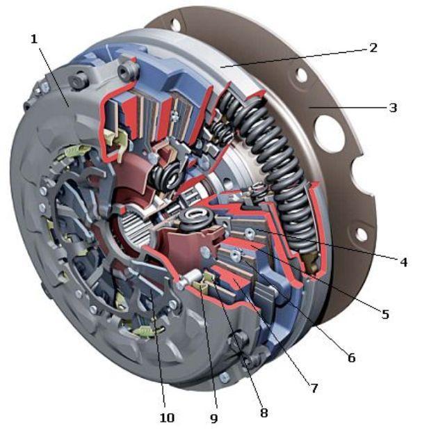 Двухдисковый агрегат авто