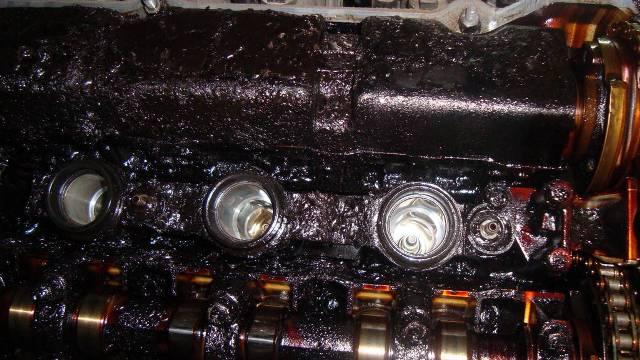 Нагар на стенках двигателя