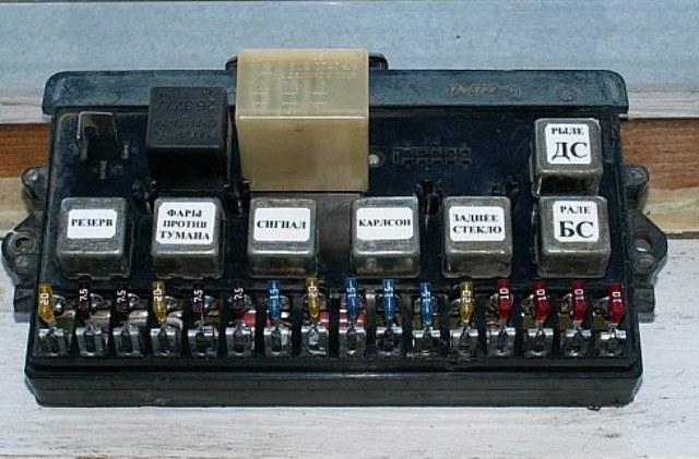 Блок старого образца ВАЗ 2109