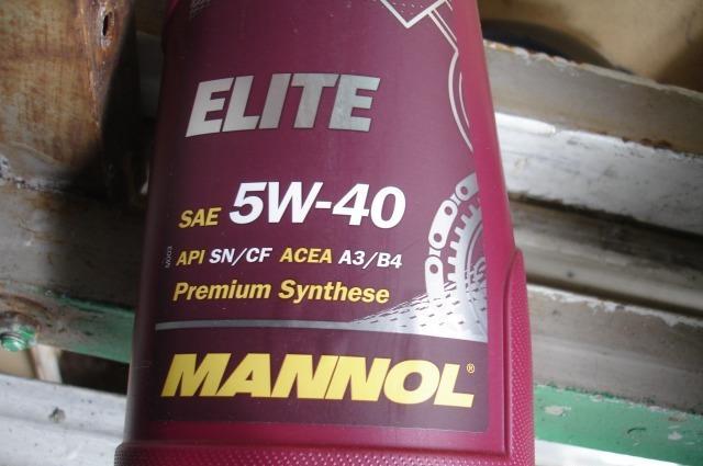 «Синтетика» Mannol 5W-40