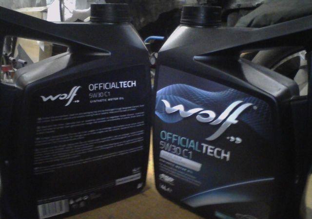 Моторное масло Wolf OfficialTech 5W-30