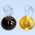 Отработанное и свежее моторное масло