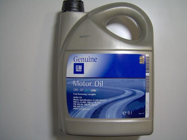 Моторное масло Дженерал Моторс, соответствующее спецификации VW 502 00