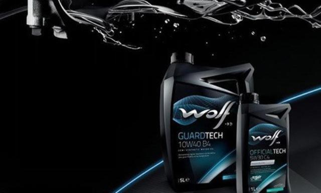 Моторное масло Wolf