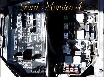 Предохранители на Форд Мондео 4