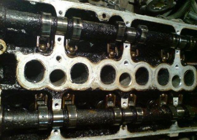 Нагар на внутренних стенках мотора