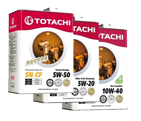 Маслосмазывающая продукция компании Totachi