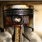 Внутренние элементы мотора в нагаре