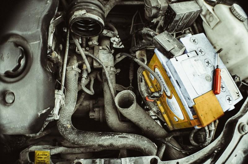 Двигатель без воздушного фильтра