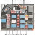 Схема БП, установленного в подкапотном пространстве транспортного средства