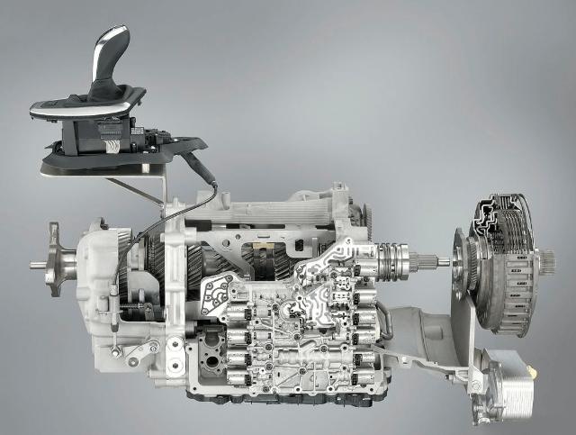 Роботизированная КПП в разобранном виде