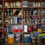 Моторные масла в магазине