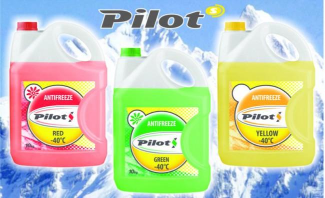 Охладительные жидкости для авто Pilots
