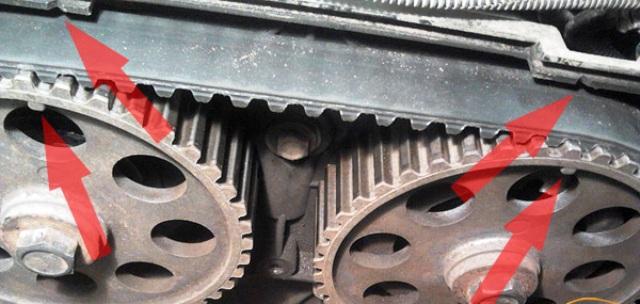 Выставляем первый цилиндр на двигателе 16 кл.