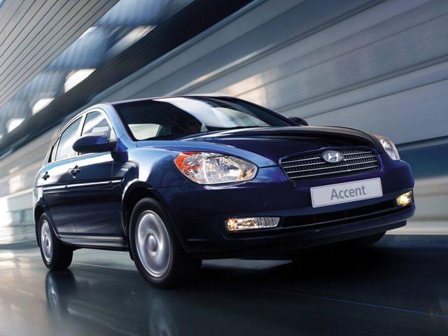 Автомобиль Huyndai Accent 2010 года выпуска