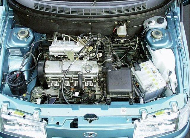 16 клапанный двигатель автомобиля ВАЗ 2112