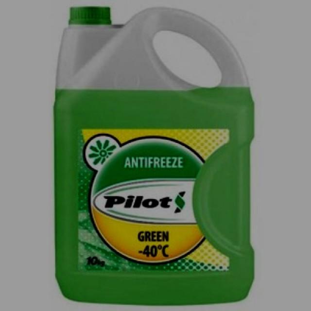 ОЖ Pilots зеленого цвета Green Line