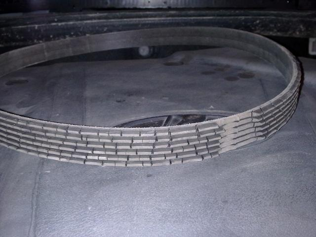 Элемент генератора Калины с 8-клапанным ДВС после деформации
