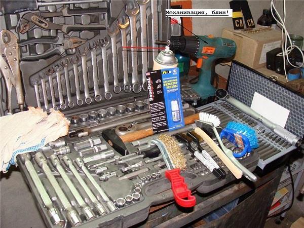 Подготавливаем необходимый инструментарий