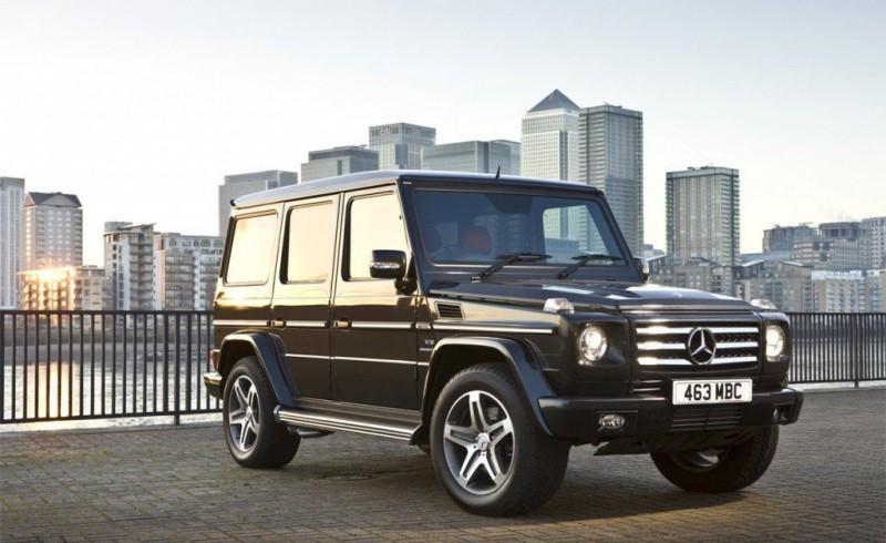 Автомобиль Mercedes G класса
