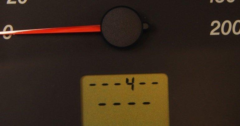 Код ошибки 4 на приборной панели