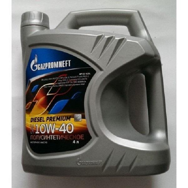 Смазка для мотора Газпромнефть (Дизель) 10W-40