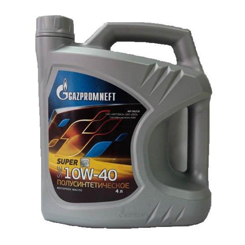 Моторная смазка Газпромнефть (Супер) 10W-40