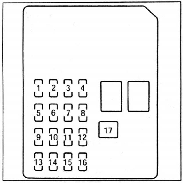 Схема расположения звеньев БП в салоне машины