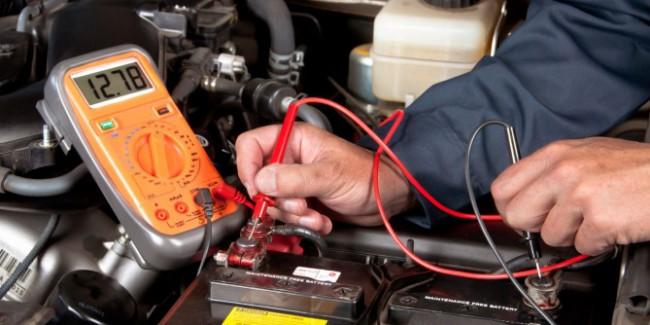 Диагностика аккумуляторной батареи Mercedes