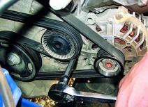 Самостоятельная замена ремня генератора на автомобиле ВАЗ 2107
