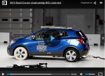 Краш-тест Buick Encore small overlap (IIHS)